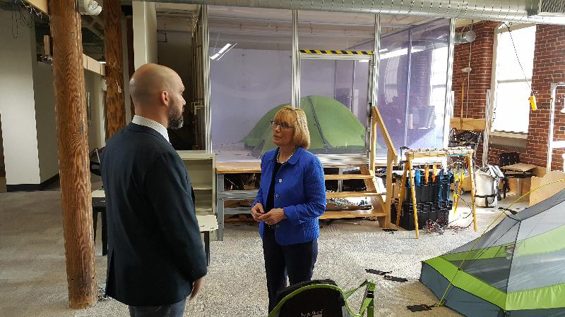 Senator Hassan Visits NEMO Equipment in Dover, Discusses