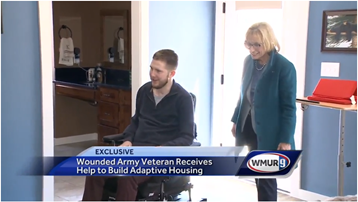WMUR: Army veteran wounded in accident gets help to return