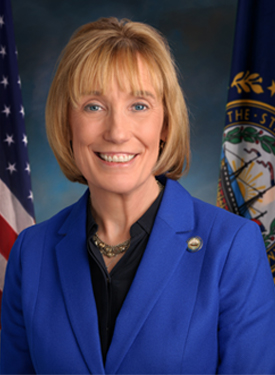 Official Portrait of Maggie Hassan
